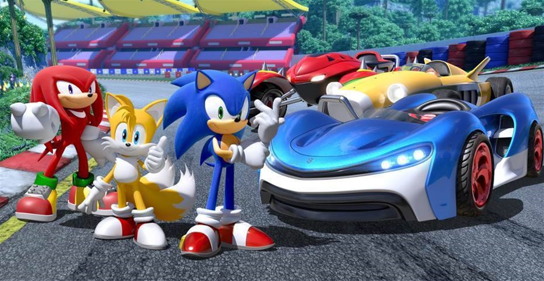 Playing Now: Team Sonic Racing