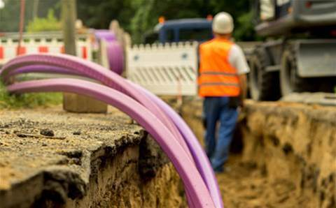 Telstra rushes to replace 200m of cable in Sydney dug up by someone silly