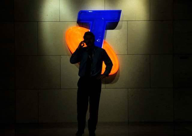 Telstra's net profit falls almost 9 percent