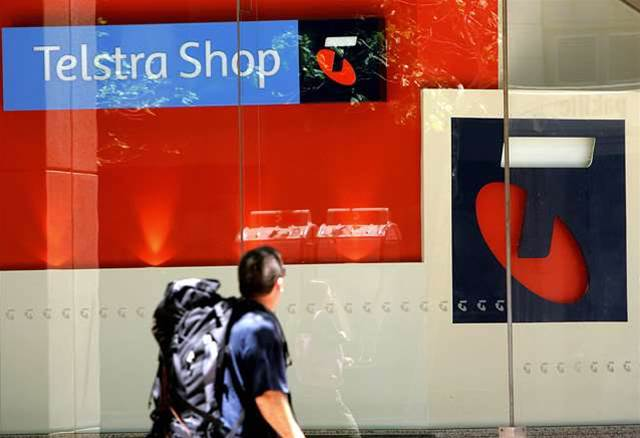 Telstra pins its financial woes on government