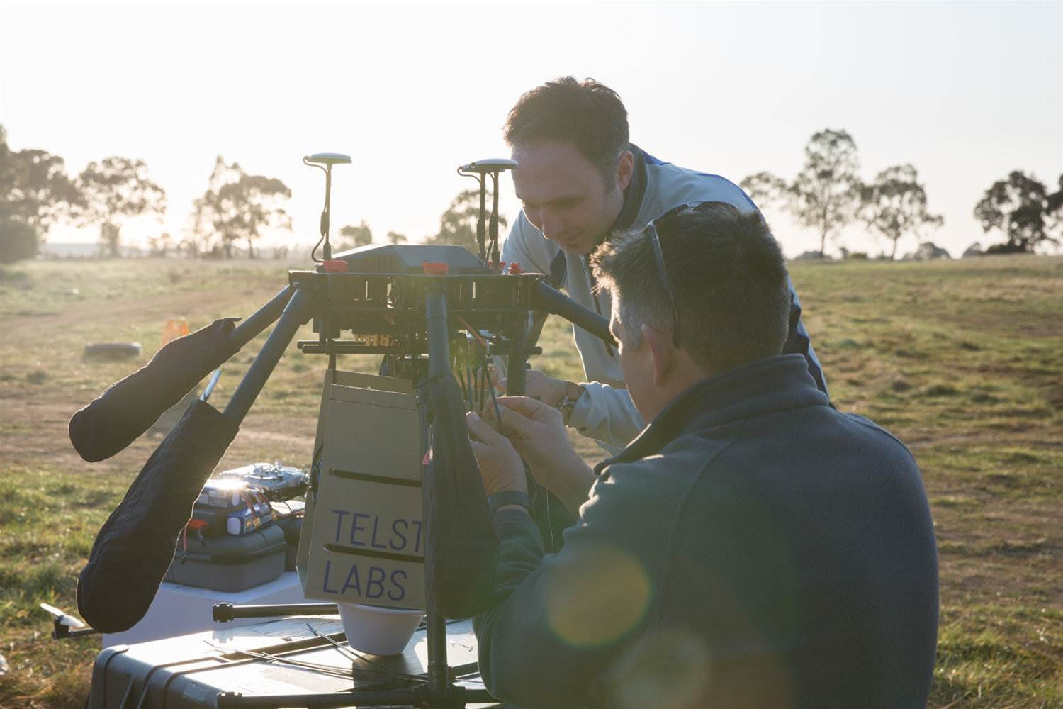 Telstra arms drones with signal boosters