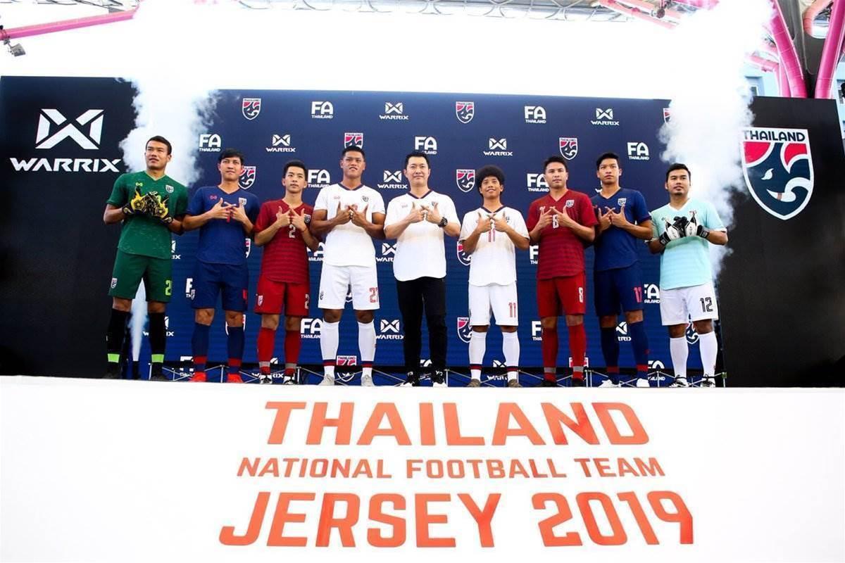 Thailand unveil 2019 AFC Asian Cup kits