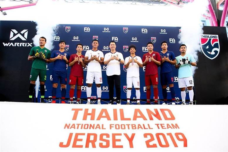 Thailand unveil 2019 AFC Asian Cup kits