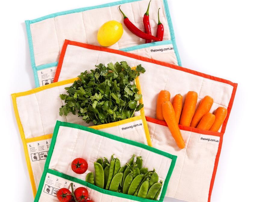 handy produce bags to keep your veg fresh