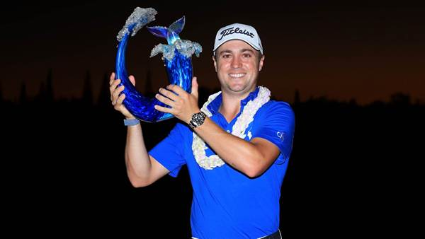 Thomas hangs on to win playoff at Kapalua