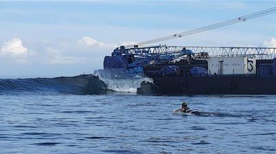 Local perspective on the new Shipwreck at Lembongan's 'Shipwrecks'