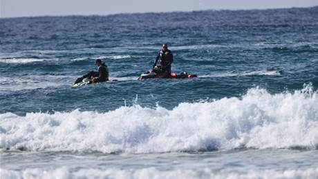 Police on Jet Skis Crash An Air Clinic Being Run By Josh Kerr.