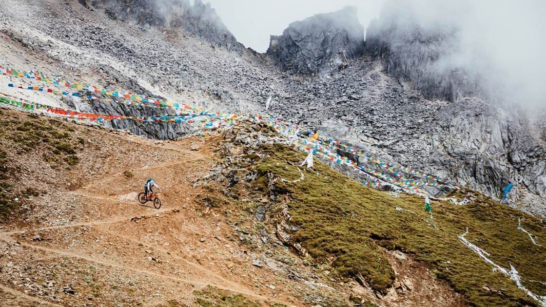 On a pilgrimage in East Tibet