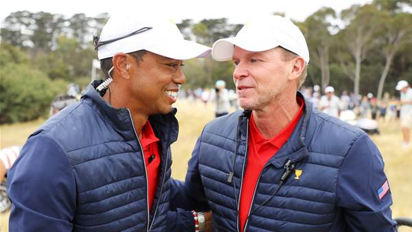 Tiger trying to play golf again: Stricker