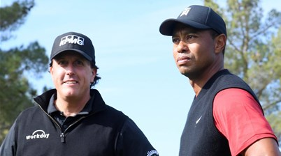 Woods, Mickelson to play in charity match