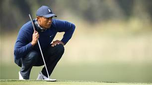 Tiger adjusting to new normal and new putter at US PGA