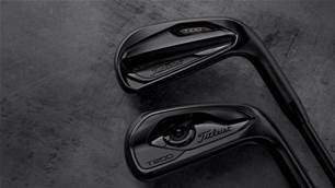 Titleist adds limited black finish T100•S and T200 irons