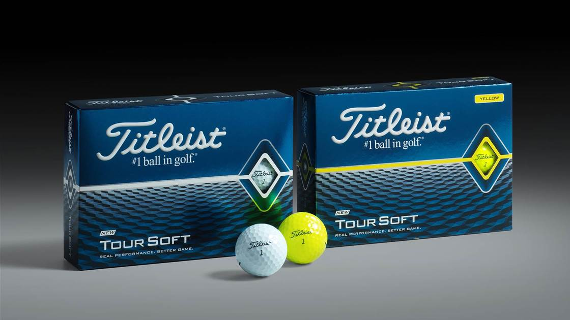 Titleist introduce new Tour Soft and Velocity golf balls