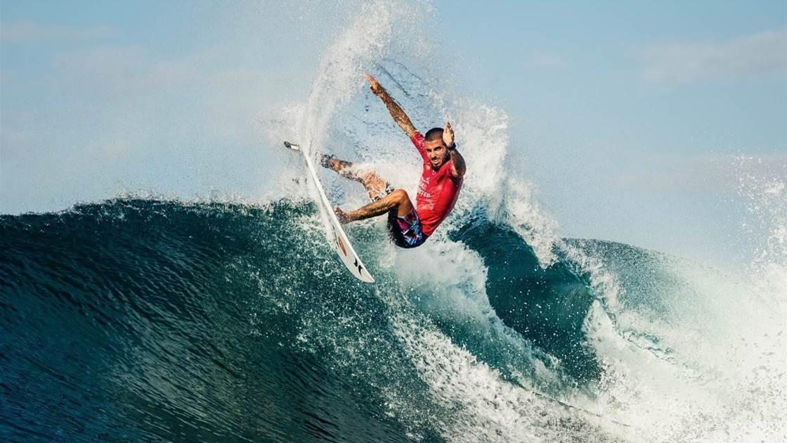 Natural-footers Take Charge at the Corona Bali Protected