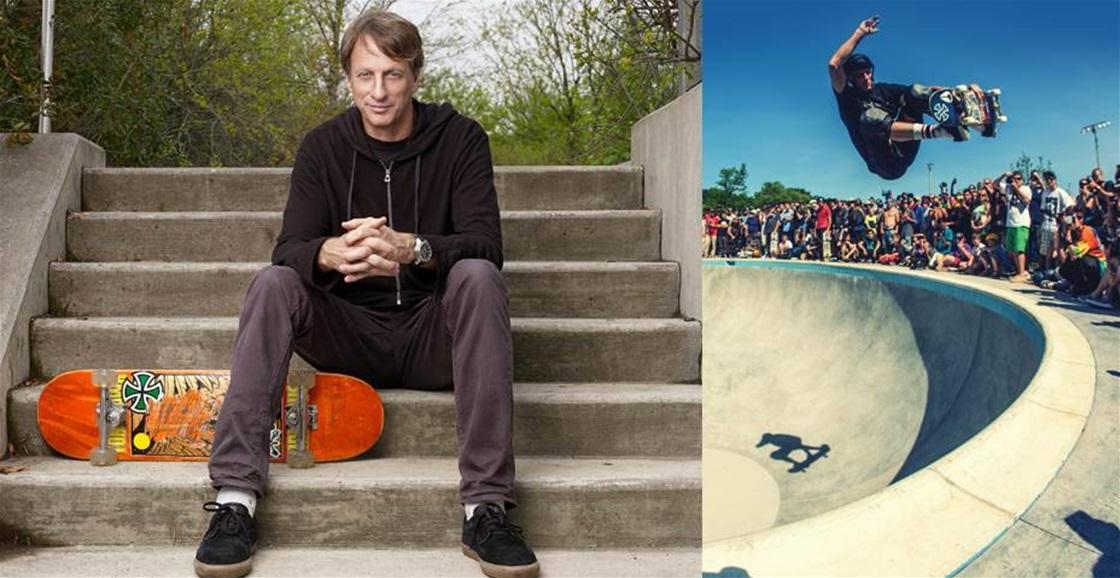 Legendary Skateboarder Tony Hawk