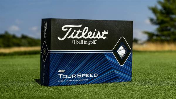 Titleist introduce new Tour Speed