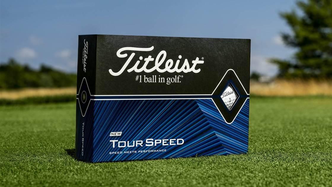 Titleist introduce new Tour Speed