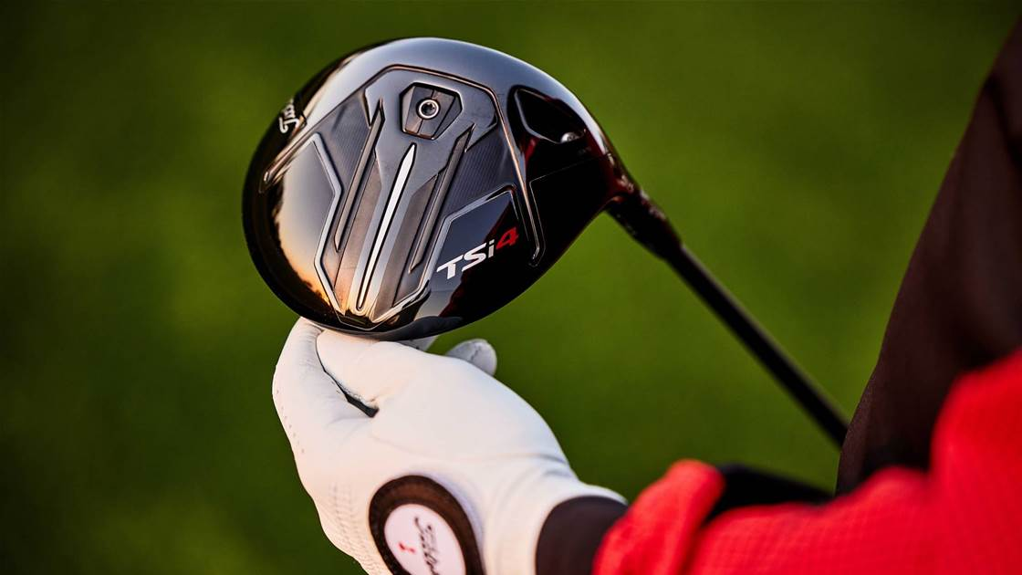 Titleist adds ultra-low spin TSi4 driver to line-up