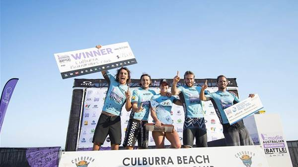 How Surfing Could Be a Team Sport