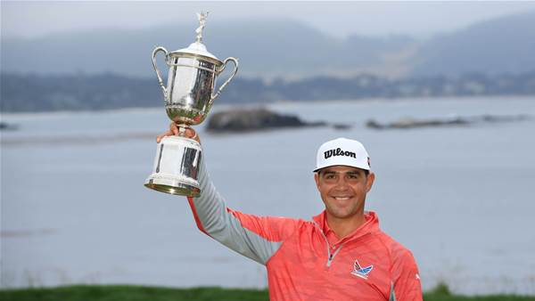 Woodland outlasts charging Koepka to win US Open