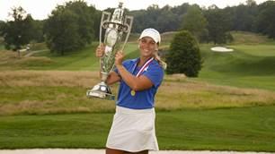 Castle completes improbable run to U.S. Women's Amateur title