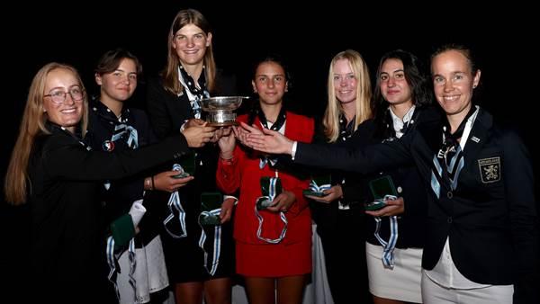 Europe defeat GB&I in Junior Vagliano Trophy
