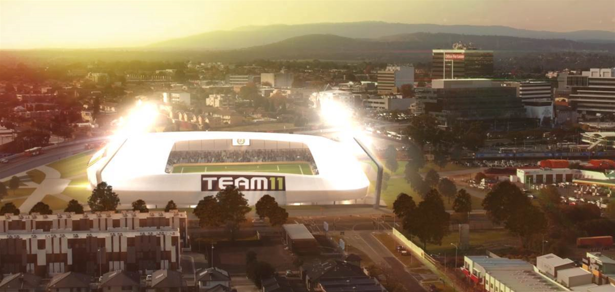 "Team 11 reveals ""game changer"" stadium plans"