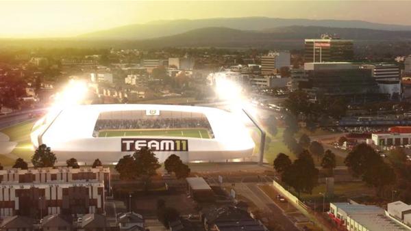 "Team 11 reveals ""game changer"" stadium plans"