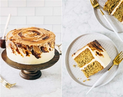 vietnamese iced-coffee cake