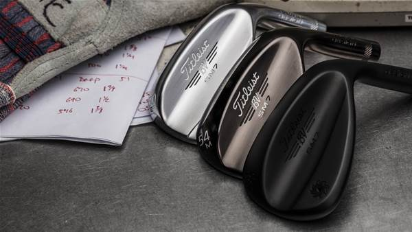 Titleist's new Vokey SM7 already Tour proven