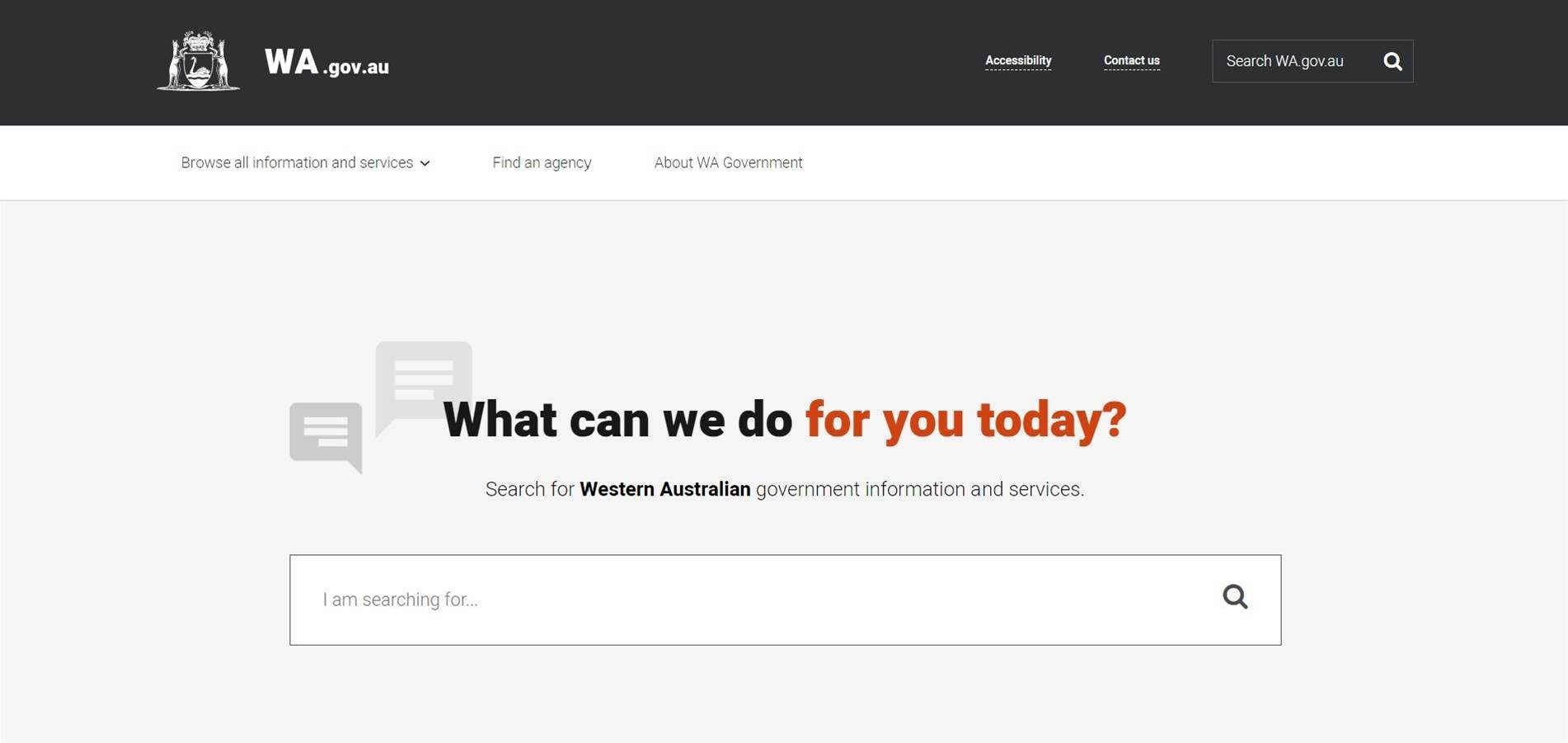 WA reveals single government portal