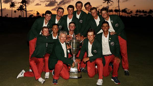 USA claims third straight Walker Cup