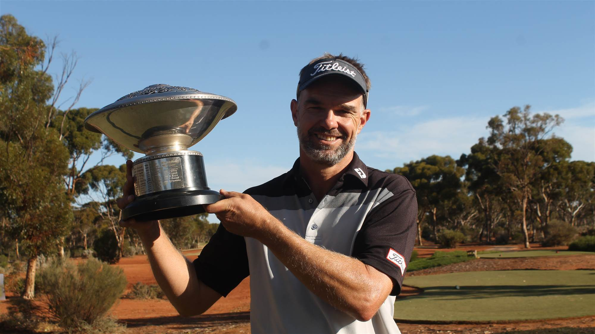Long wins WA PGA with dream course record round