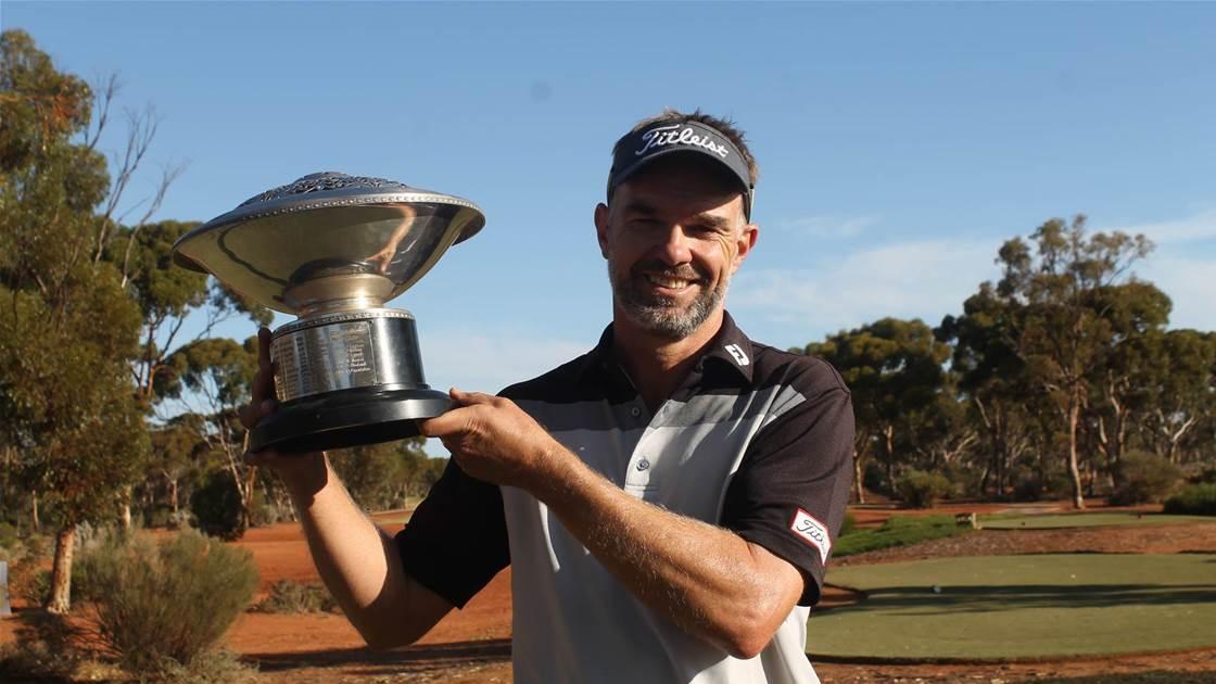 Long wins WA PGA with dream course record round