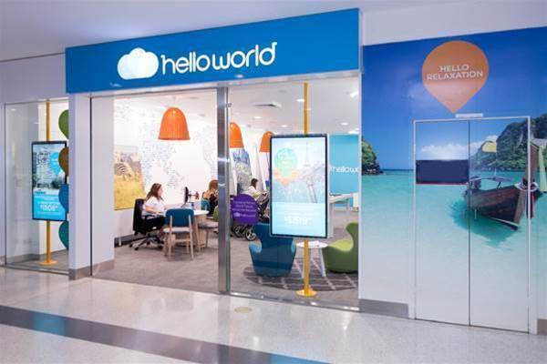 Helloworld Travel pushes upgrades to make systems fly