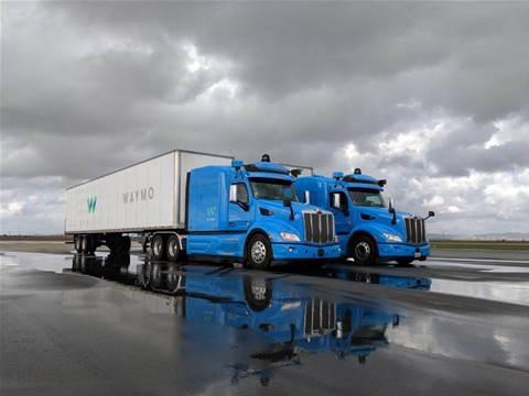 Waymo's self-driving trucks to haul cargo for Google data centres