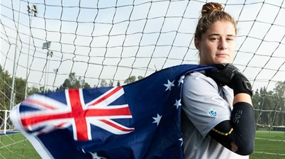 This is Teagan Micah: The only Aussie in the NWSL draft
