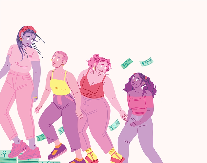 money lessons from a literal super woman