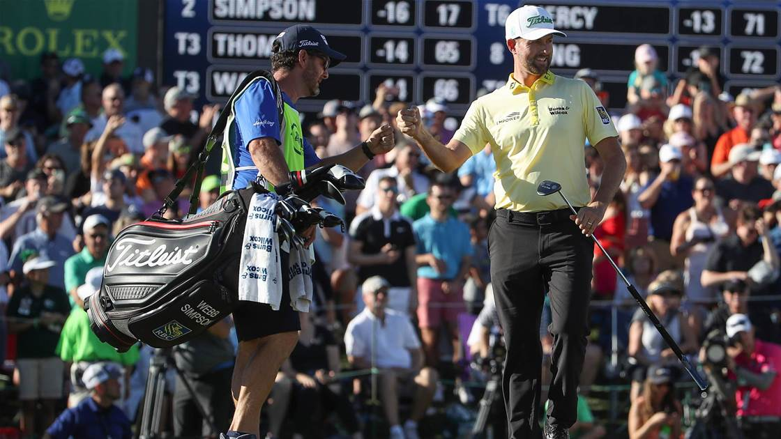 Winner's Bag: Webb Simpson – Waste Management Phoenix Open