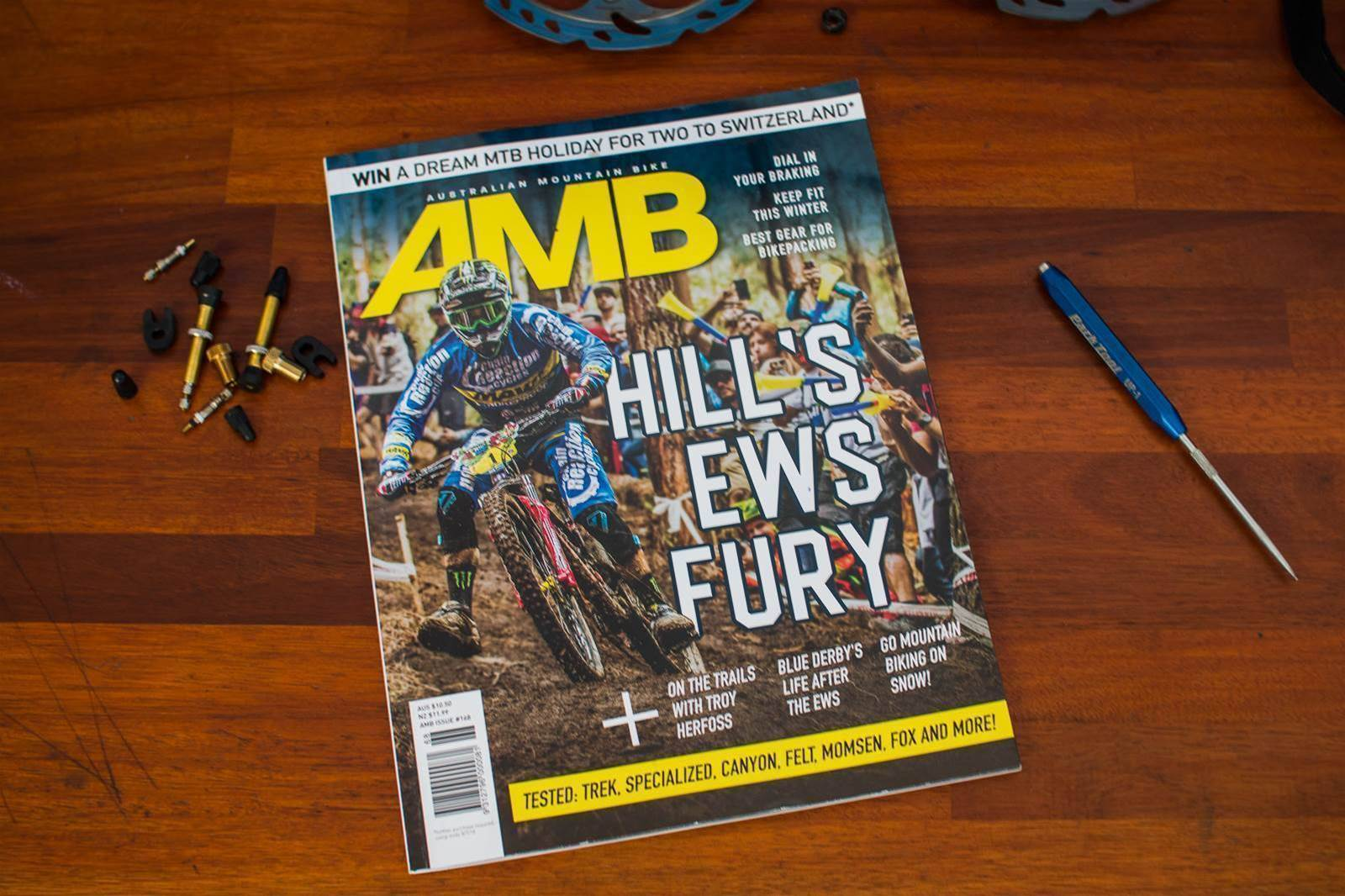 All the action in Issue #168 of AMB!