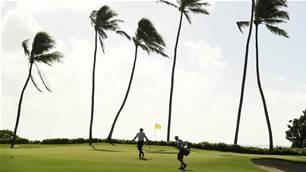 New Hawaiian island, new course, same wind