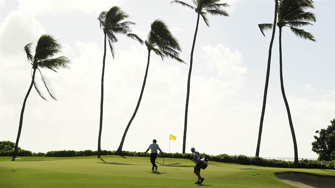 New Hawaiian island, new course, same wind