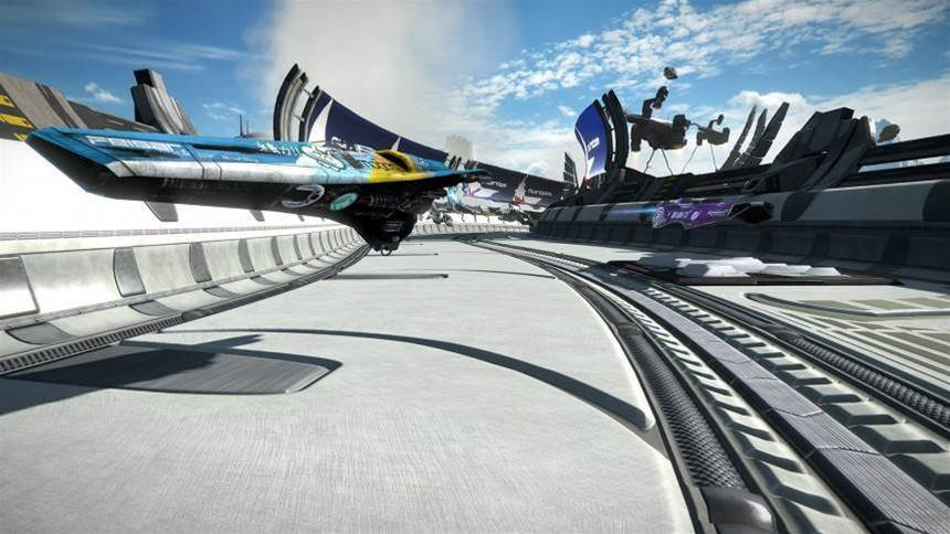 Wipeout VR is now a thing and it's coming as a free update in 2018