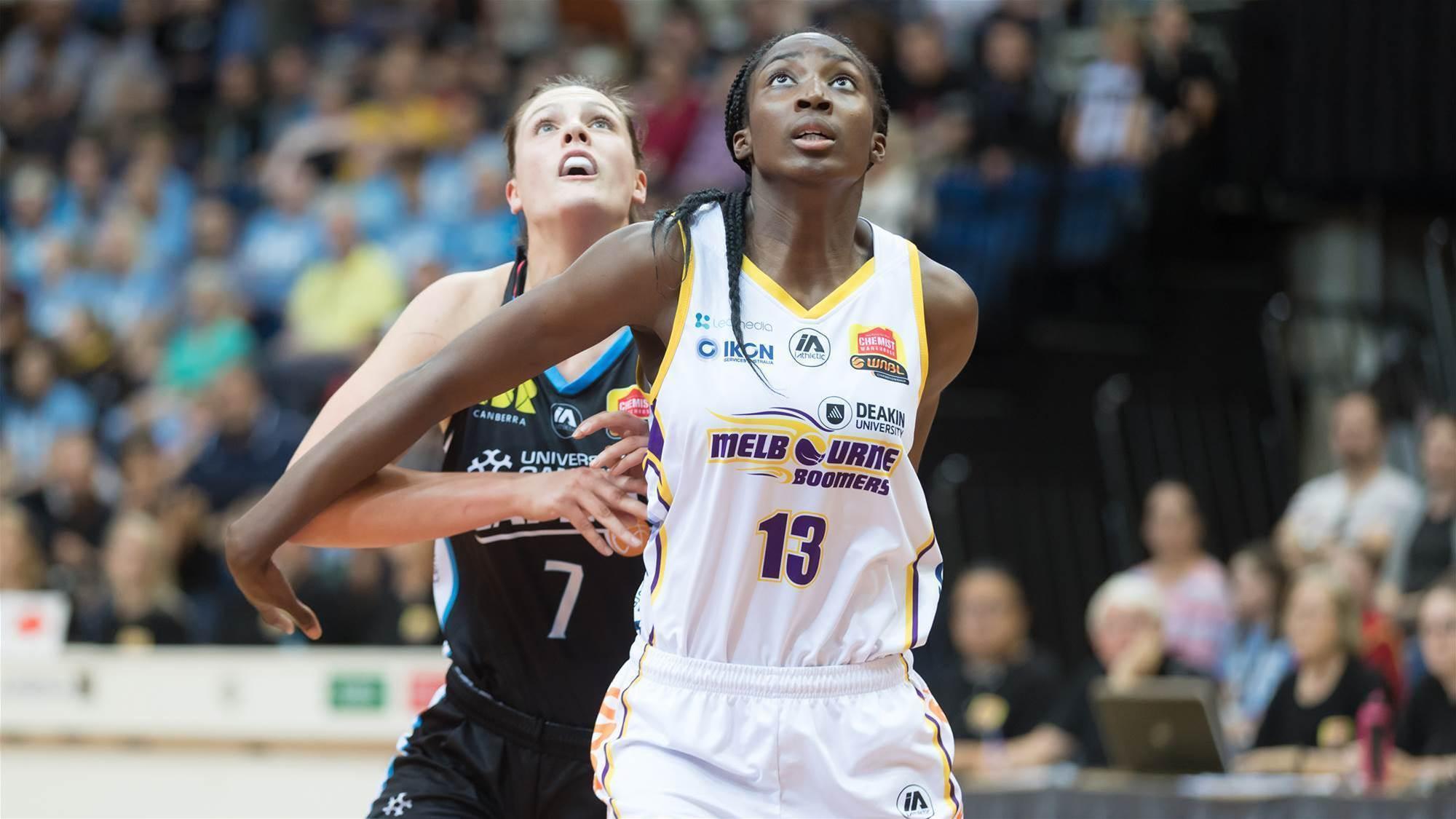 WATCH: Ezi Magbegor drafted to WNBA