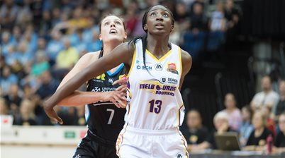 WATCH: Ezi Magbegor drafted to WNBA