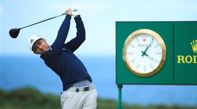 Schauffele lets fly at R&A over failed driver test