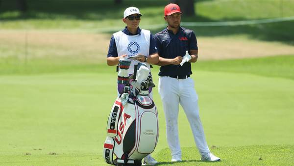 Gold Medal Bag: Xander Schauffele – Men's Olympic Competition