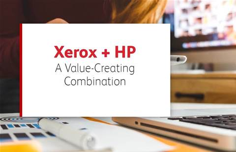 Xerox makes 33-page pitch for HP buy