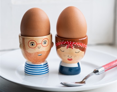 some rather hip egg cups