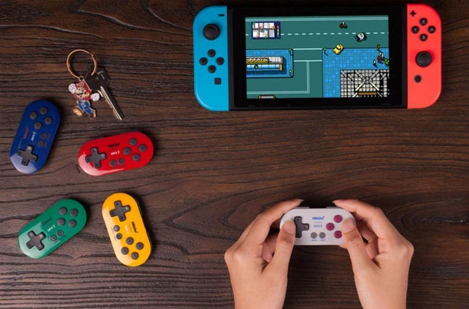 8BitDo's Zero 2 is a gamepad so small you could almost lose it down the back of an atom